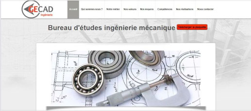 site internet gecad