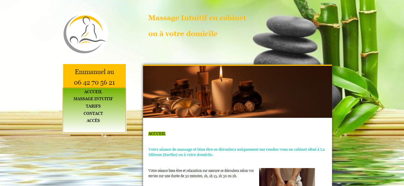site internet natural massage